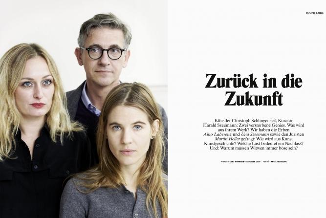 U.Szeemann, M.Heller, A.Laberenz