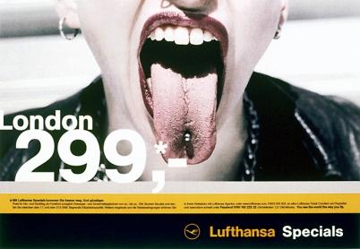 Lufthansa Specials London