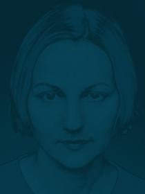 Angela Bergling Selbstportrait