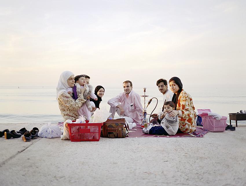 Picnic syrian_family